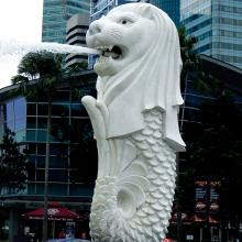 Singapore sling craigy lee convention big tattoo planet for Merlion tattoo images