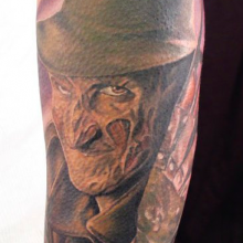 Pin Freddy Krueger Claw Marks Tattoo Rate My Ink Pictures ...