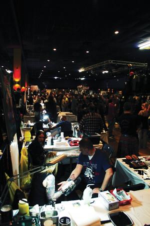 After two years absence from the UK tattoo show scene, the Ink & Iron Tattoo