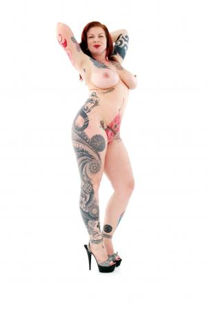 Meet the stunning Cherie Matrix, a tattooed temptress, anti censorship