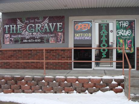 The grave studios art and design for Tattoo parlors in st joseph mo