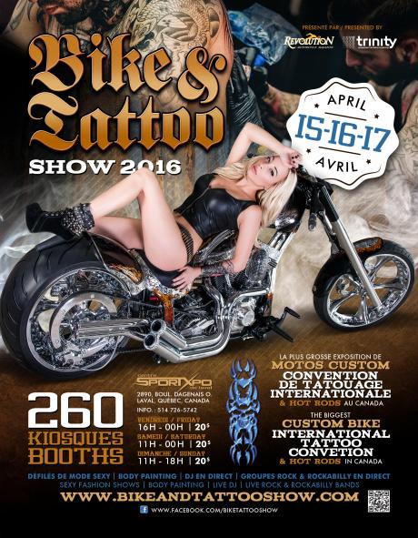 18th Bike & Tattoo Show 2016 - Conventions | Big Tattoo Planet