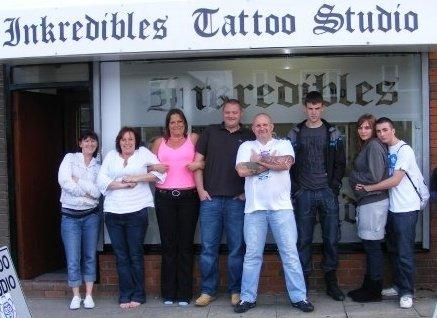 Henna Tattoo Newcastle  Tyne on Tattoo Parlour Heaton Road Inkredibles Tattoo Studio Bolton Bl Ah
