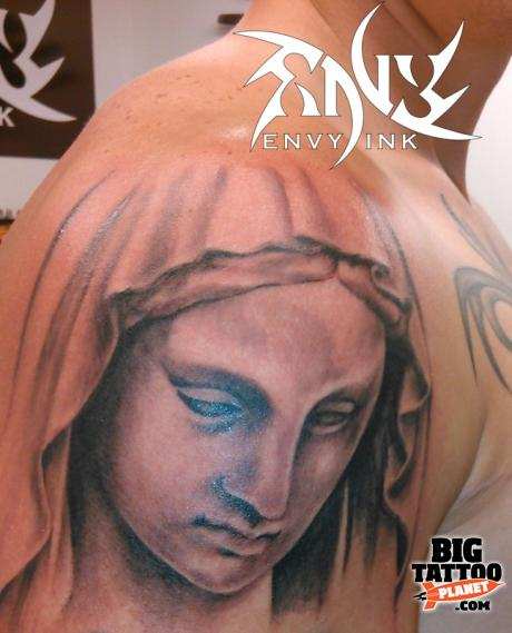 Envy ink tattoo piercing shoulder tattoo big tattoo for Envy tattoo needles