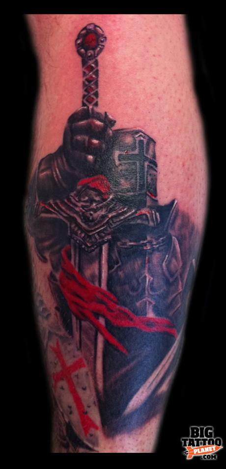 Crusader Cross Tattoo | www.imgkid.com - The Image Kid Has It!