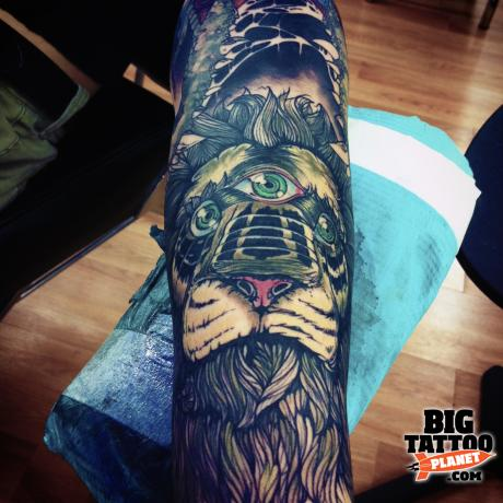 LeifMcHatton - Abstract Tattoo | Big Tattoo Planet