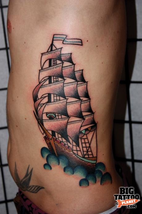 a tale of tattoos friendship the rain city collective manchester colour tattoo big. Black Bedroom Furniture Sets. Home Design Ideas