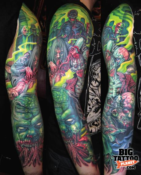 tim kern my evil twin colour tattoo big tattoo planet. Black Bedroom Furniture Sets. Home Design Ideas