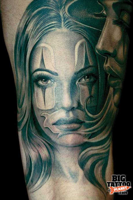 Milan Convention '09 - Abstract Tattoo | Big Tattoo Planet