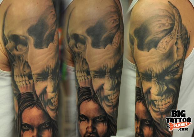 Andy Engel - Black and Grey Tattoo | Big Tattoo Planet