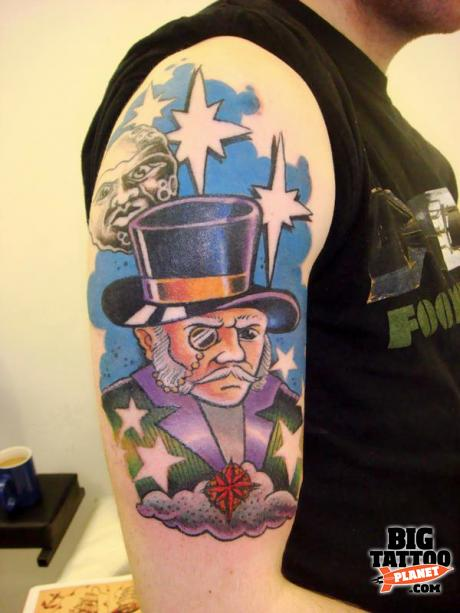 Dan Gold at 13 Ink Tattoo UK 11 - Colour Tattoo | Big Tattoo Planet