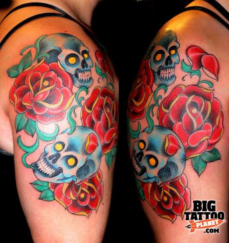 Hernan Chevalie at Calaveras Y Diablitos Tattoo Spain 3 - Colour Tattoo