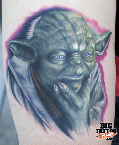 Mick Squires at Korpus Tattoo Australia 18 - Colour Tattoo | Big Tattoo