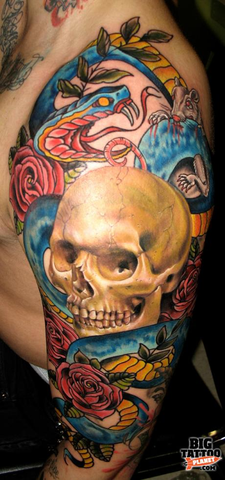 nate beavers colour tattoo big tattoo planet