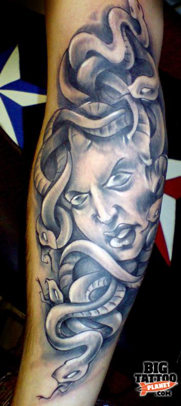 Peter Bobek at Tribo Tattoo Czech Republic 20 - Medusa Tattoo | Big Tattoo