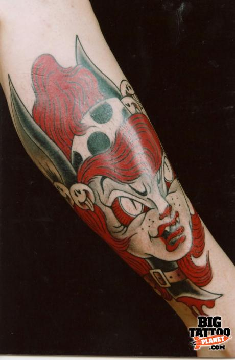 super tatuaje. Sabado at Eccentric Super Tattoo Japan 5 - Colour Tattoo | Big Tattoo Planet