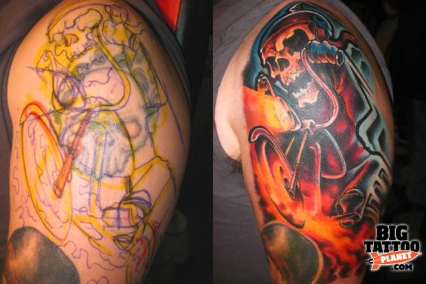 Scot Winskye at Ink Well Tattoo USA 3 - Colour Tattoo | Big Tattoo Planet