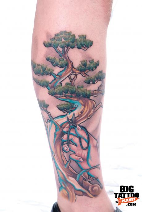 Bonsai tree | Big Tattoo Planet