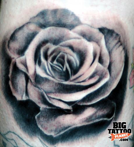 think before you ink black and grey tattoo big tattoo